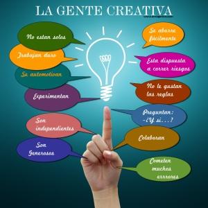 ¿Como es la gente creativa?